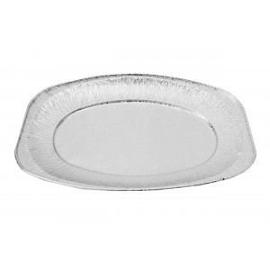 "17""  Medium Aluminium Foil Platters-Food Platters-Oh My Packaging"